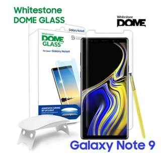 Whitestone Dome Glass Screen Protector (IP X,S9,S9+,Note 9)