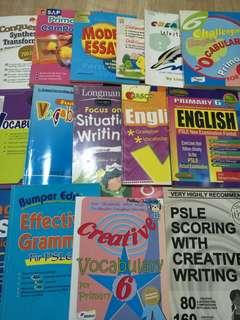 (Free Give Away) 15 x mixture of English reference books