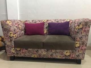 Sofa Vintage Homemade 2 seater- REPRICE