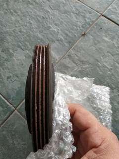 Wira original crank pulley