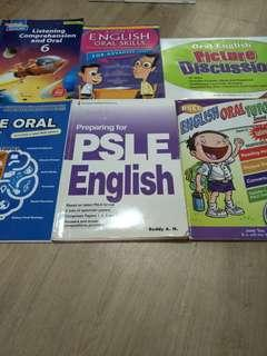 (Free Give Away) 6 x English oral skill reference books