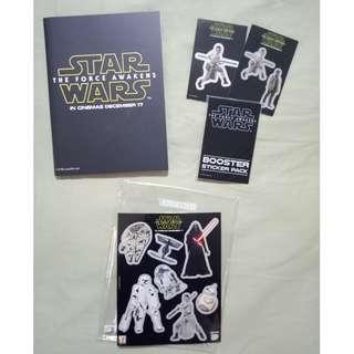 Star Wars: The Force Awakens sticker set