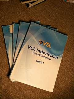 Vsl vce Indonesian textbook workbook