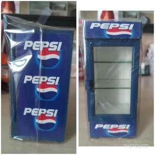 Pepsi Mini Wood Refrigerator