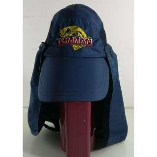 TOMMAN Fishing Cap with Removable Neck Cover