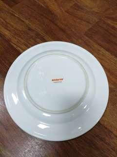 Dinner Plate with Rim, 10 inch Porcelain