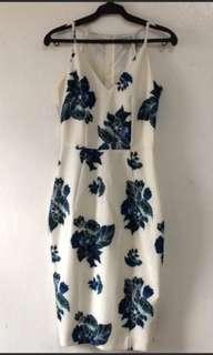 H&M floral formal dress