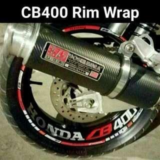 CB400 Reflective Wrap