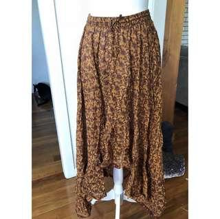 Tree of Life Boho Skirt