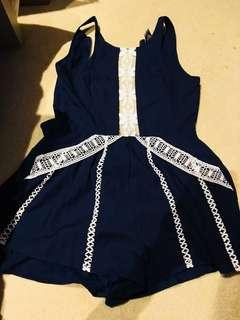 BRAND NEW PLAYSUIT LACE