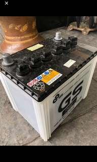AGM,  Yuasa Q-85 Lead acid batteries