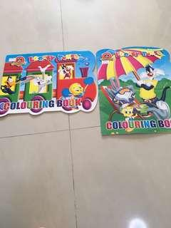 Looney tunes colouring book