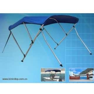 Bimini Boat Top with Rear Support Pole