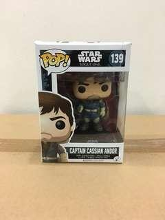 Star Wars Rogue One Captain Cassian Andor #139