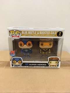 DC Super Heroes Blue Beetle & Booster Gold 2-Pack Exclusive