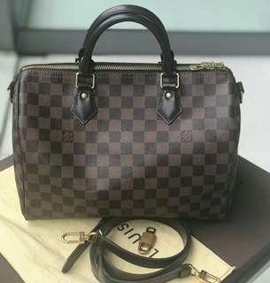 2016 Louis Vuitton Speedy 30 Bandou DE ♥️ rank a / authentic or money back  SALE at P56k only  Marked down from 57,500