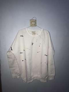 Unique White Sweater