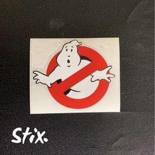 Ghostbusters Vinyl Cut Sticker