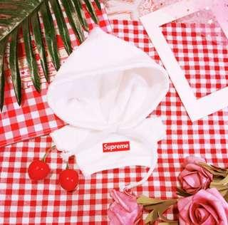 [Instocks available] 20cm doll clothes supreme hoodie