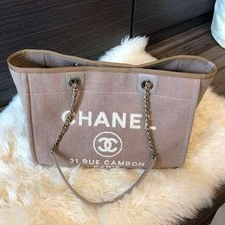 Chanel帆布袋