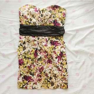 Costa Blanca Floral Tube Dress