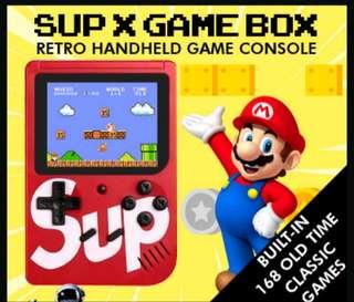 Sup X Retro Game Box Console Super Mario