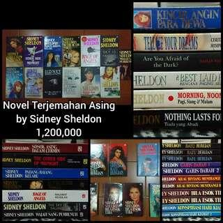 Novel Terjemahan Asing by Sidney Sheldon