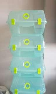 Shoes storage container (green colour)