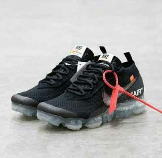 Off White x Nike Vapormax 2.0 Black