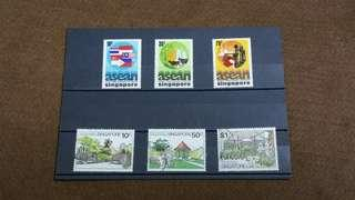 Singapore Stamps 1977 & 1979