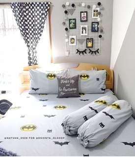 Sepreiset motif Batman uk 160x200x20