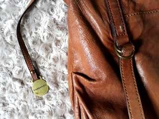 Rabeanco Tan leather Bag