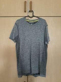 Giordano G-Motion Sports T-Shirt (Melange Grey)