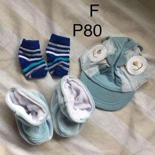 Cap and booties/socks