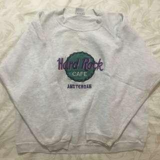 Hard Rock Cafe pullover sweater