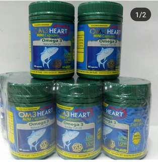 Om3 heart mini capsules made in usa