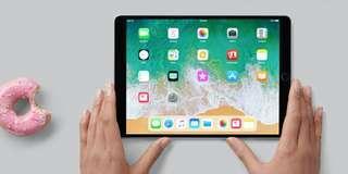 Apple ipad 2018 with unactivated warranty