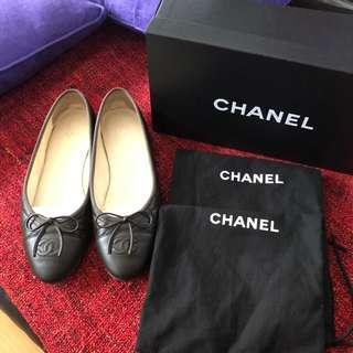 Chanel Quilted Lambskin Ballerina