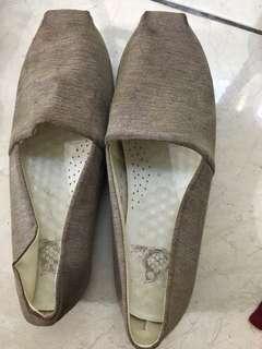 Cute pretty ballerinas shoes