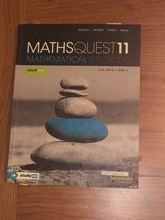 Maths Quest 11 Mathematical Methods