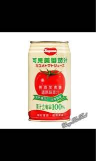 《可果美》無鹽蕃茄汁340ml*24罐/箱 兩箱價