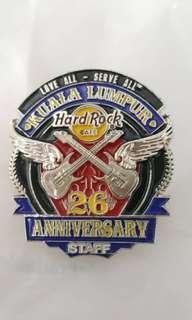 Hrc pin 26 anniversary