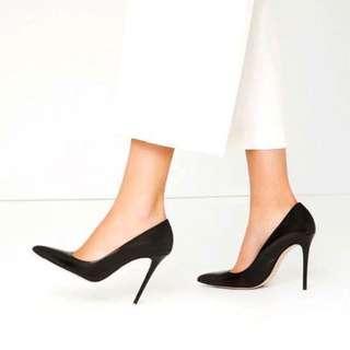 ZARA 限量版皮製高跟鞋