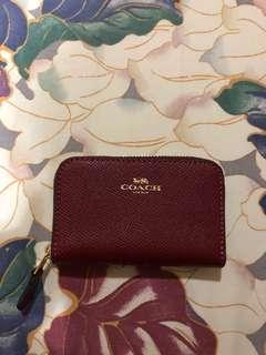 Coach card holder authentic