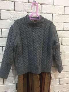 🚚 Allo cotton正韓麻花羊毛毛衣 7號$250