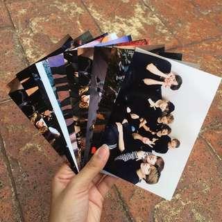 BTS Random Picture 4R Prints Set