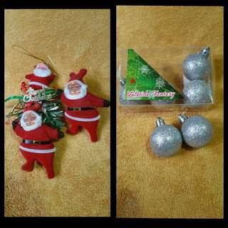 Bundled Christmas tree decoration