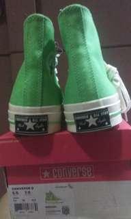 Converse 70s illusiun green egret