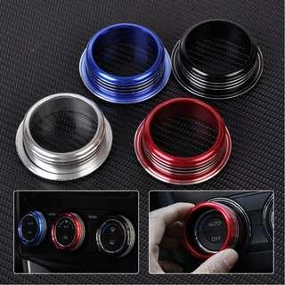 Air Conditioning Button Knob Ring Cover For Subaru Forester XV 2012 2013 2014 2015
