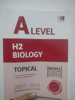 A level H2 Biology tys with answer